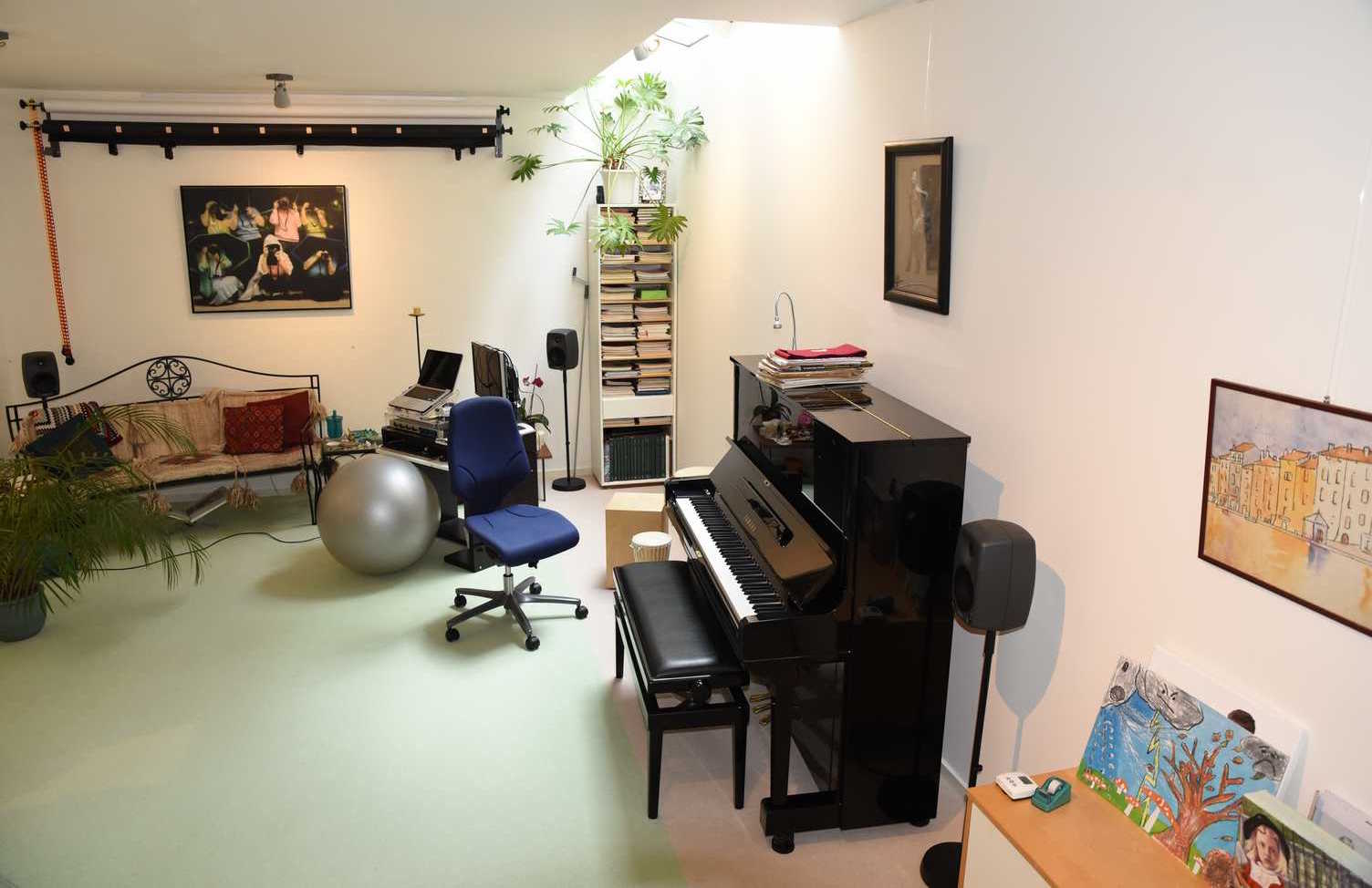 Hands-on Piano les studio in Alteveer, Arnhem.